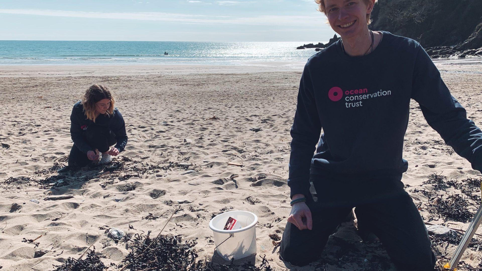Ocean Discovery Rangers Beach Clean