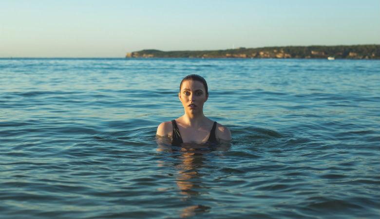 Wild swimming in the Ocean